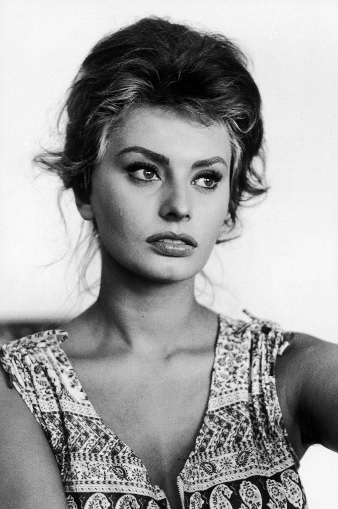 Sophia Loren in Italy, 1961.
