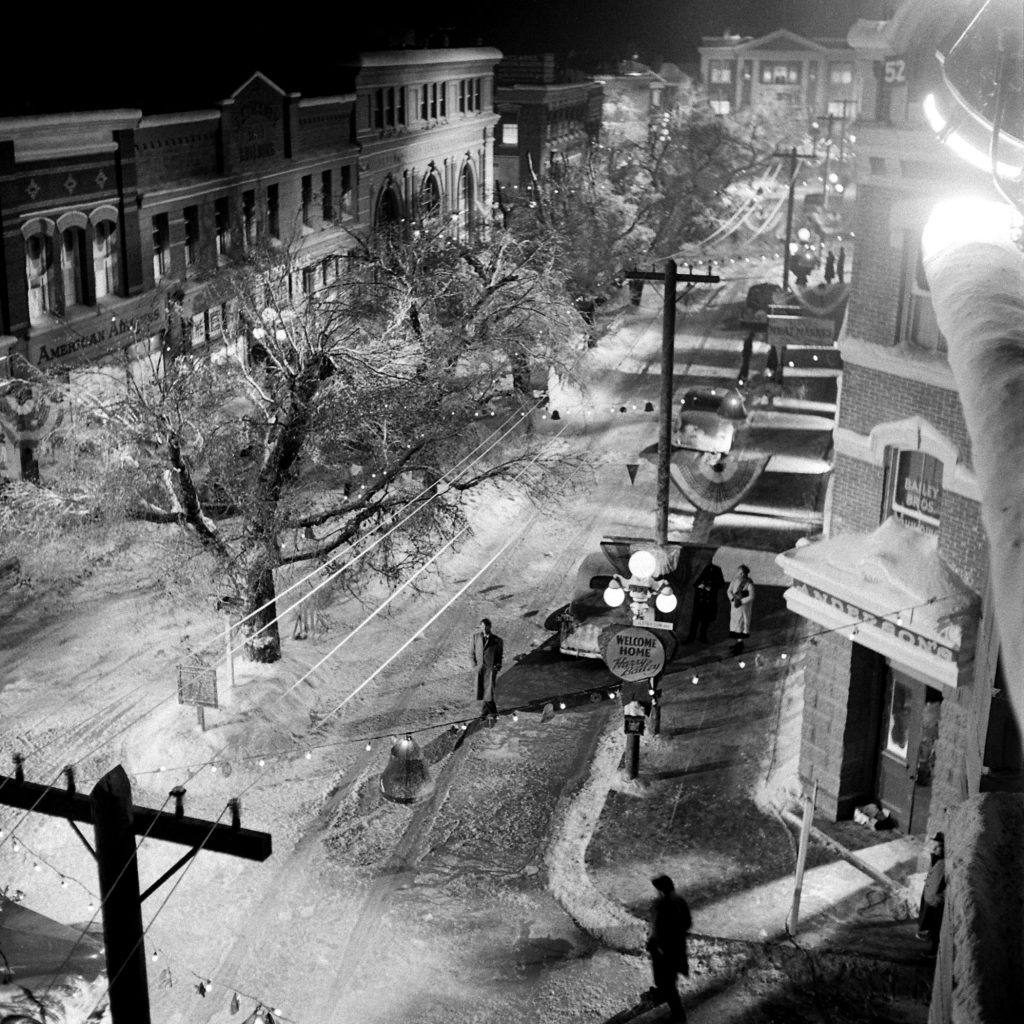 Bedford Falls, a.k.a., the set of 'It's a Wonderful Life.'