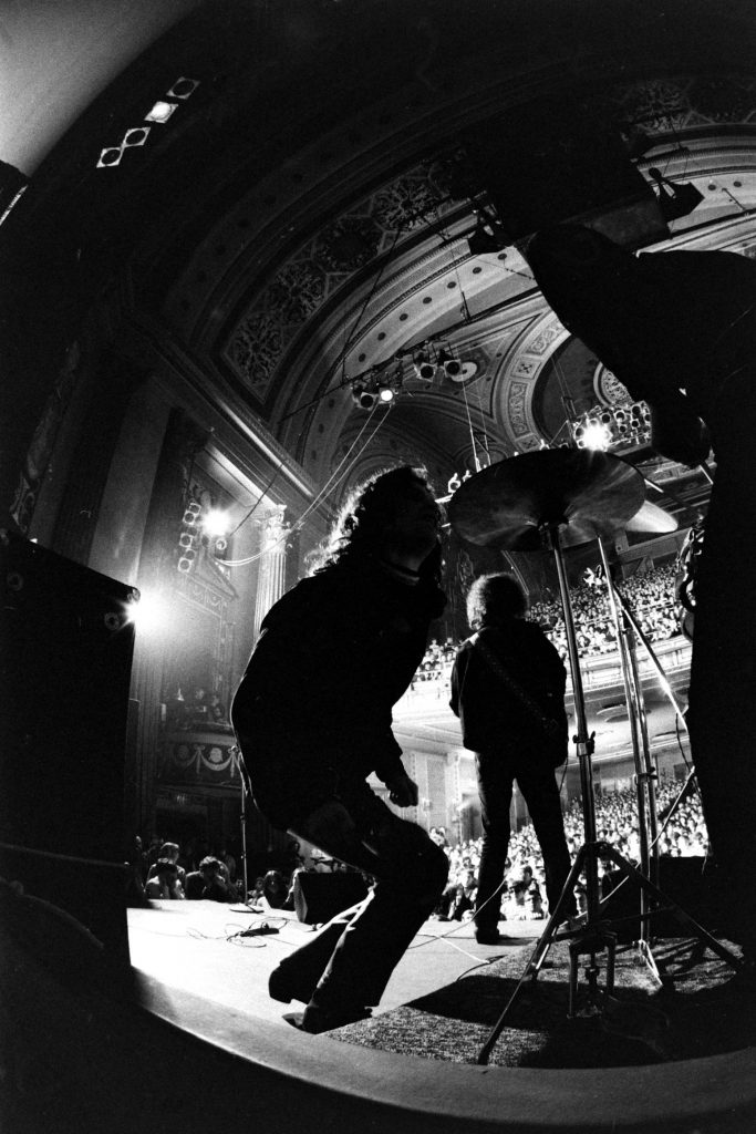 The Doors perform at New York City's Fillmore East in 1968.