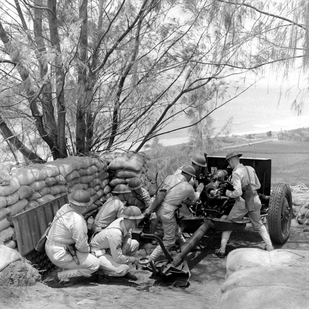 Pearl Harbor troops shore up defenses in Hawaii.