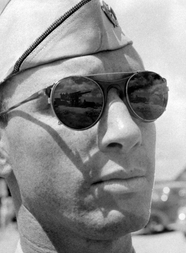 Solider in Pearl Harbor in December 1941.