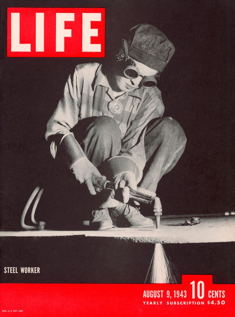 LIFE magazine cover August 9, 1943