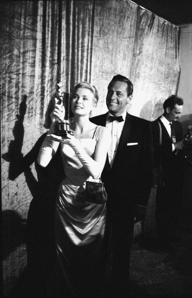 Academy Awards: Classic Film Stars With Their Oscars