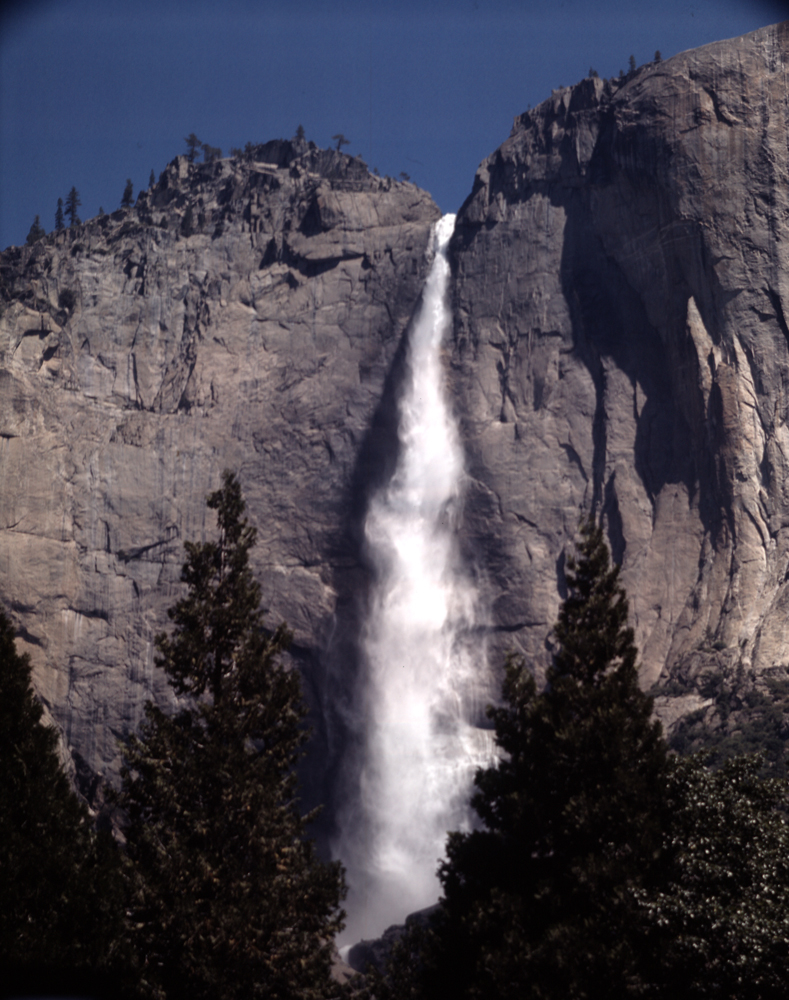 Yosemite Falls at Yosemite National Park, 1962.