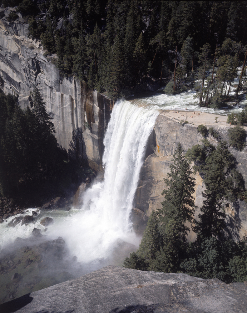 Vernal Falls in Yosemite National Park, 1962.