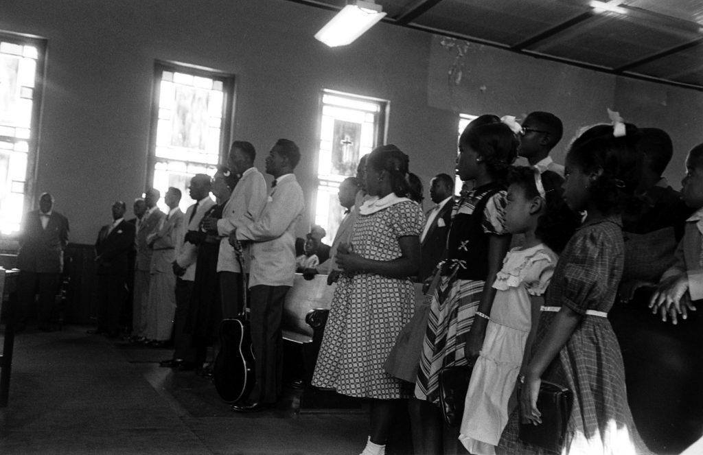 The Prisonaires at Kane Street Baptist Church, Nashville, Tenn., 1953.