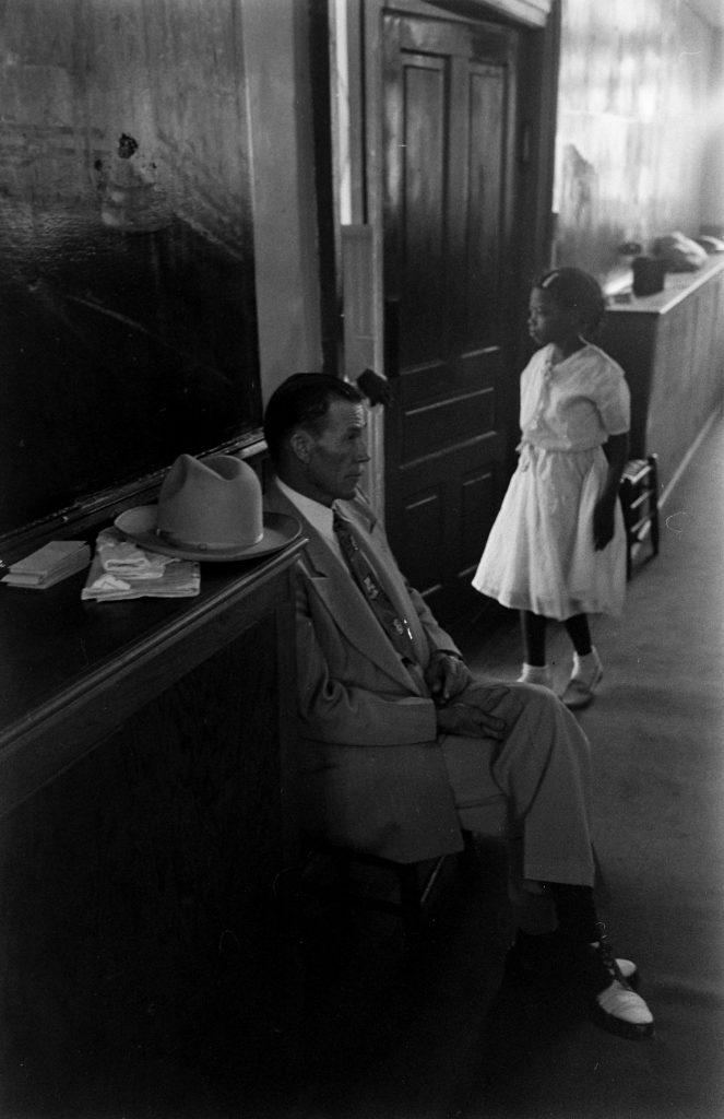 The Prisonaires' guard rests at Kane Street Baptist Church, Nashville, Tenn., 1953.