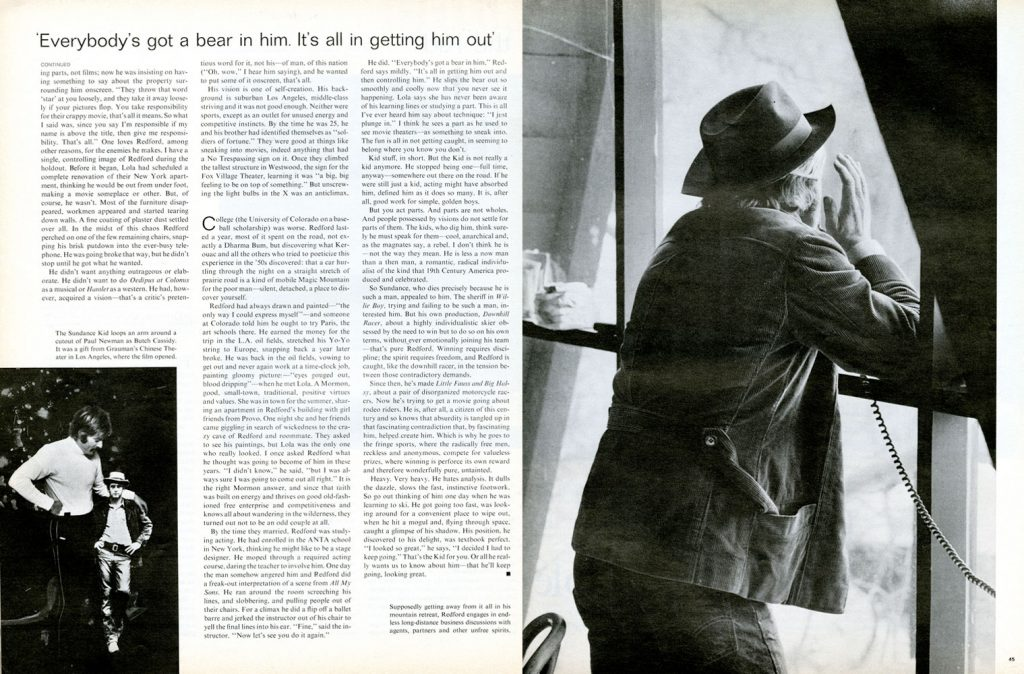 Page spreads from the February 6, 1970, issue of LIFE magazine.