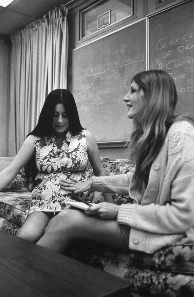 Photo from a LIFE magazine article on teen pregnancy, 1971.