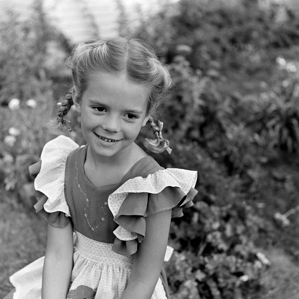Natalie Wood as a child in 1945, Miracle on 34th Street