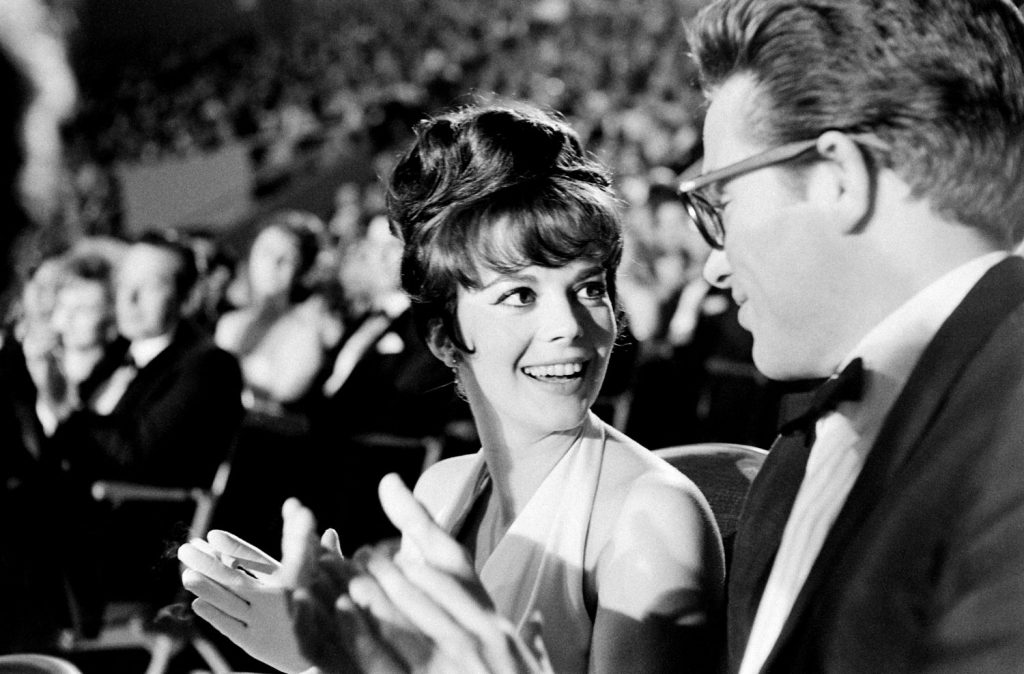 Natalie Wood at the Oscars in 1962.