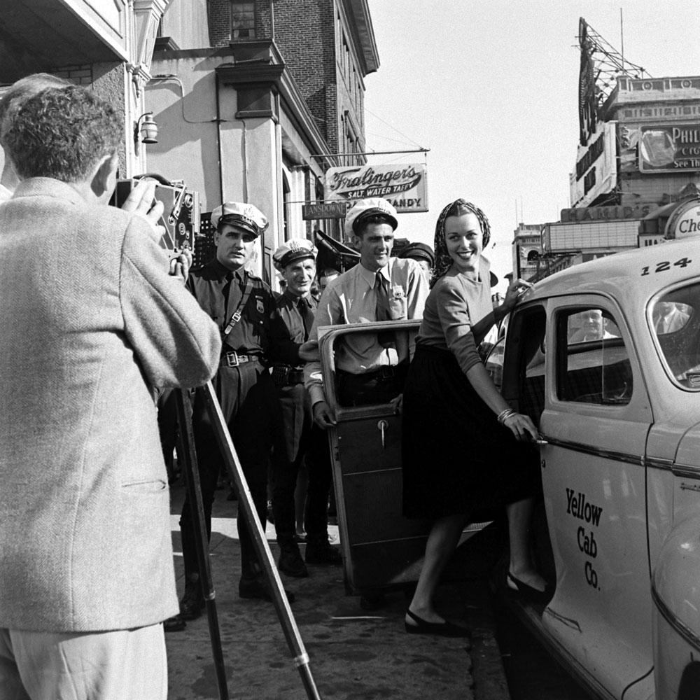 Bess Myerson, Miss America, 1945.