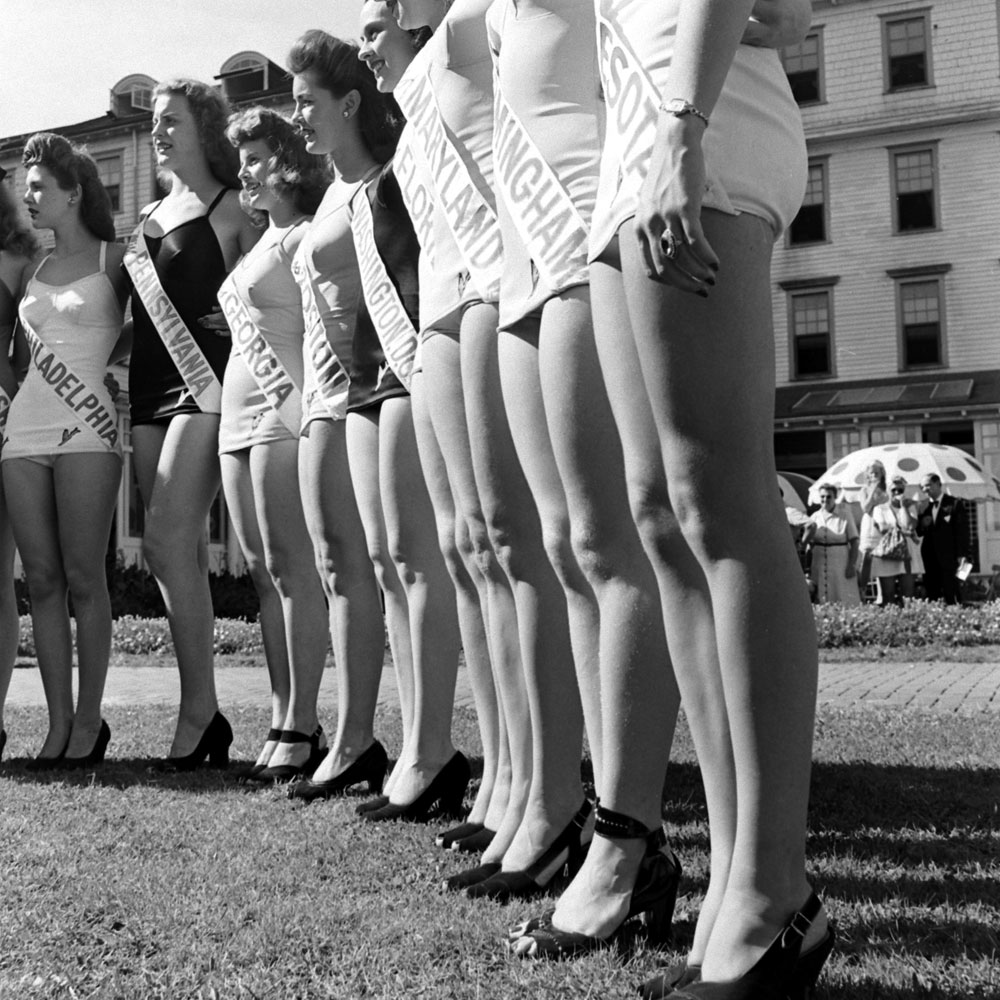 Miss America pageant in Atlantic City, September 1945.