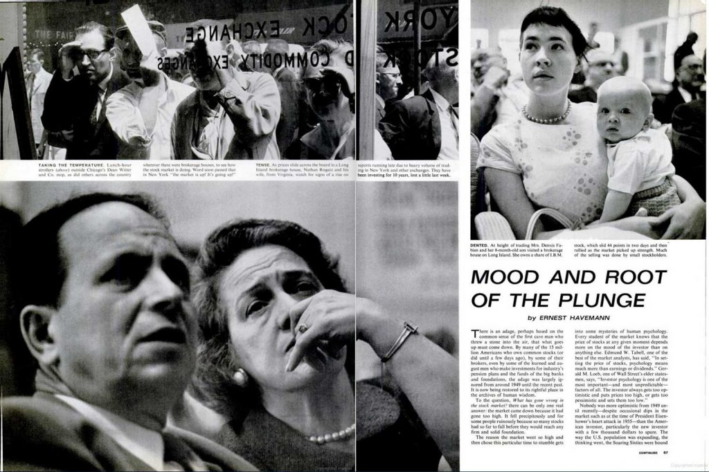 Page spreads from June 8, 1962, issue of LIFE.