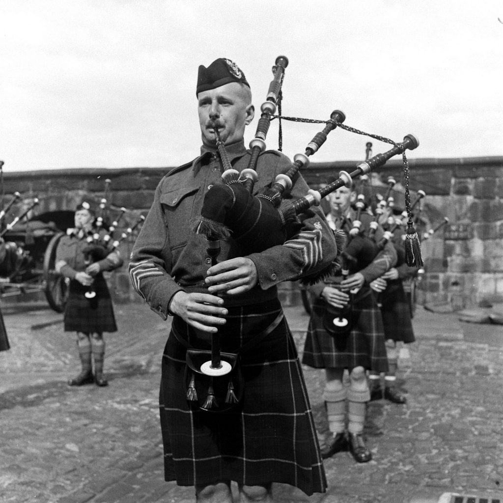 Outtake from essay on Scotland, 1947.