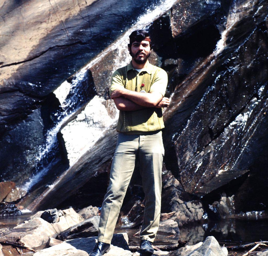 1970 Earth Day staffer, Arturo Sandoval.