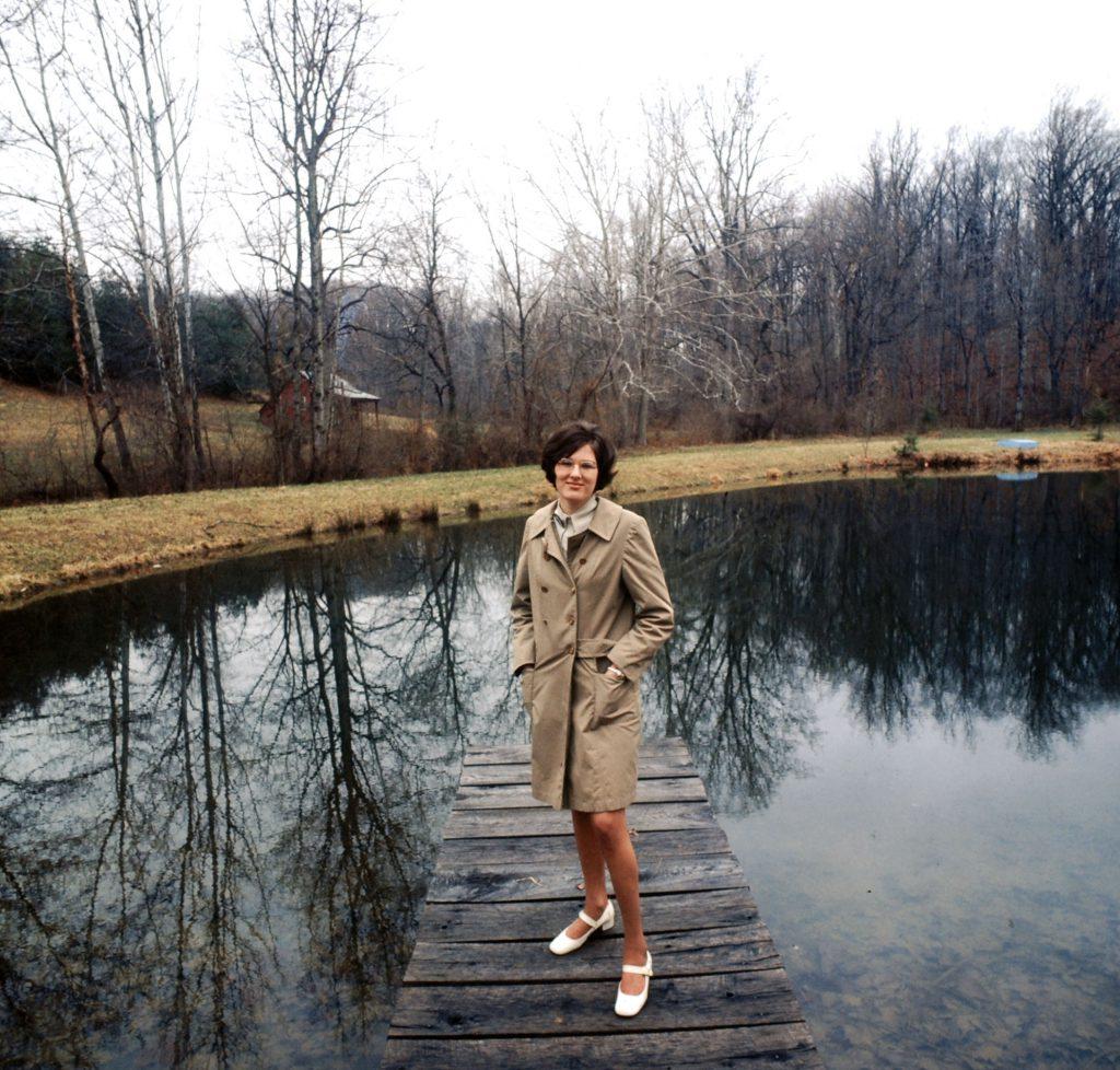 1970 Earth Day staffer, Barbara Reid.