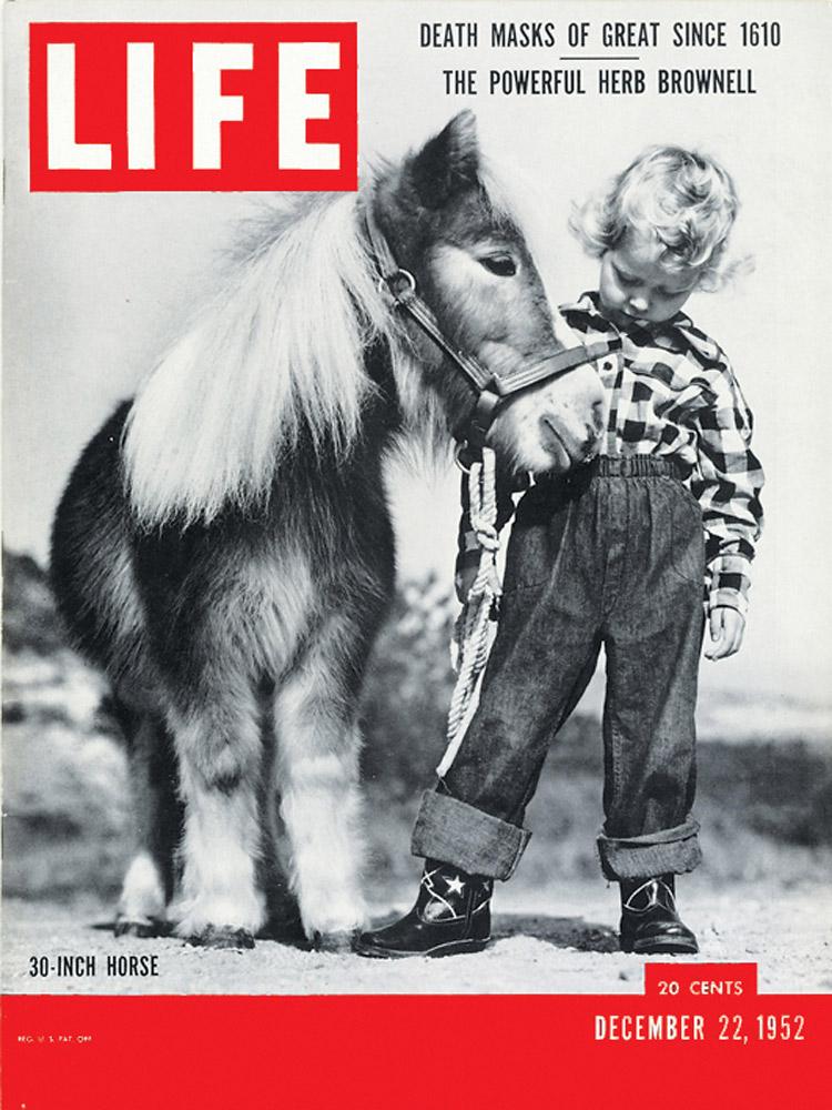 December 22, 1952 LIFE Magazine cover