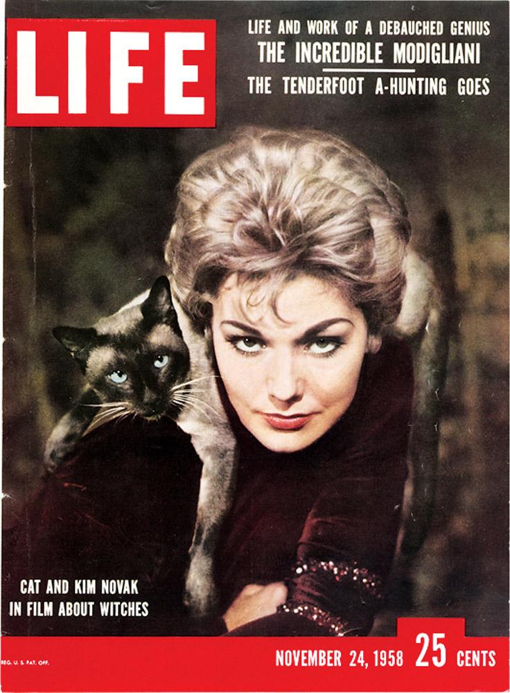 November 24, 1958 LIFE Magazine cover