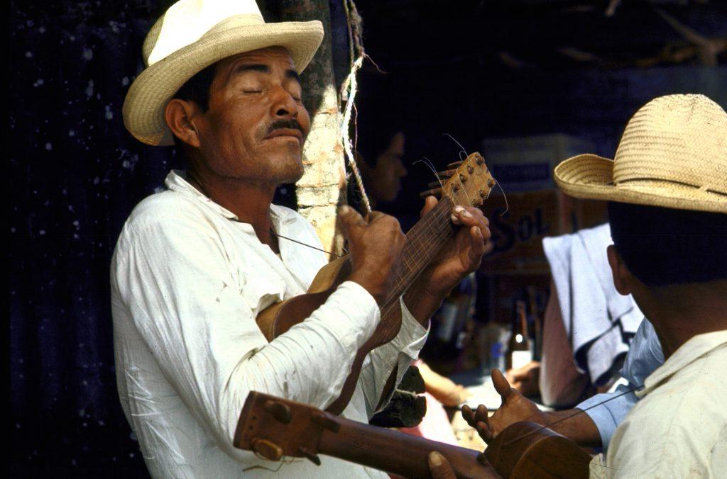 Plaza singers in Vera Cruz.