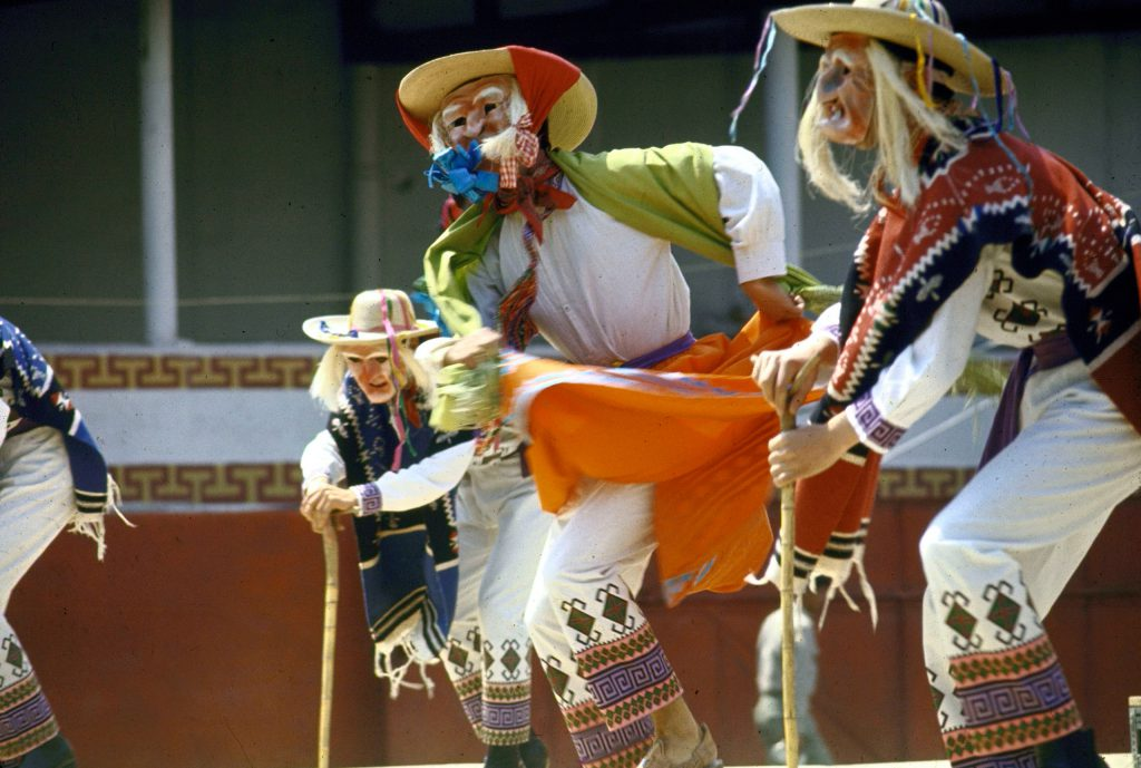 Performers in Mexico.