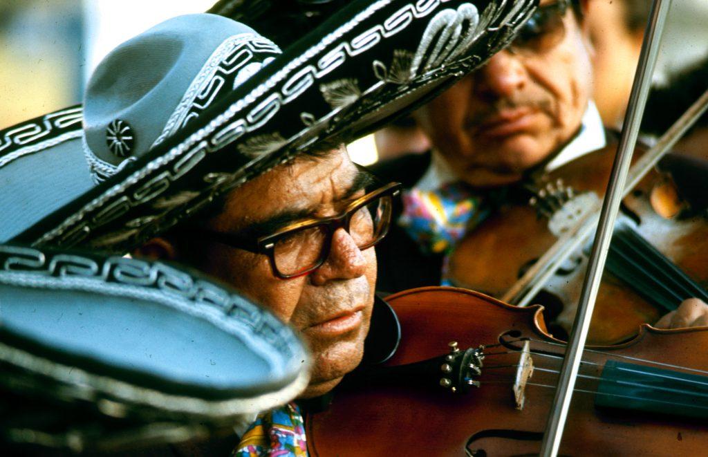 A mariachi band, Mexico.