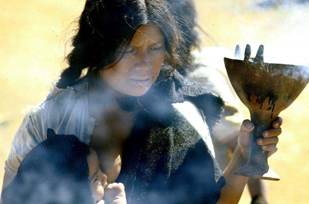 Incense bearer in Chiapas.