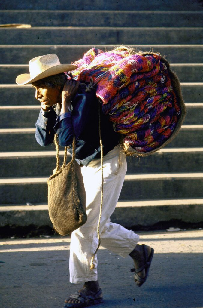 Hammock seller, Oaxaca.