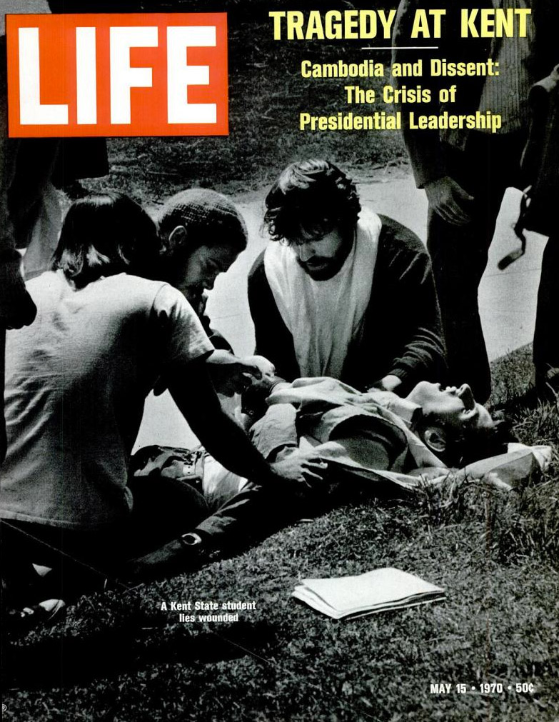 LIFE magazine coverage of Kent State in May 1970.