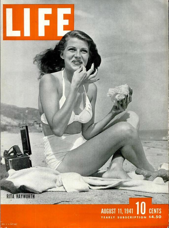 August 11, 1941 LIFE Magazine cover (photo by Bob Landry).