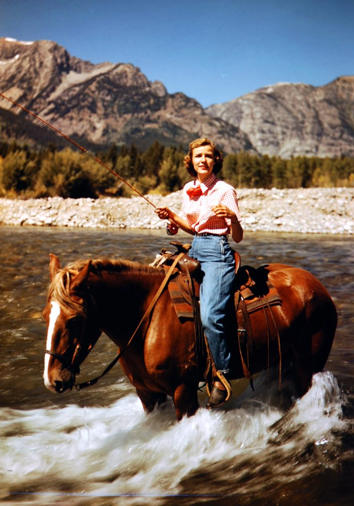 Jackson Hole, Wyoming, 1948.