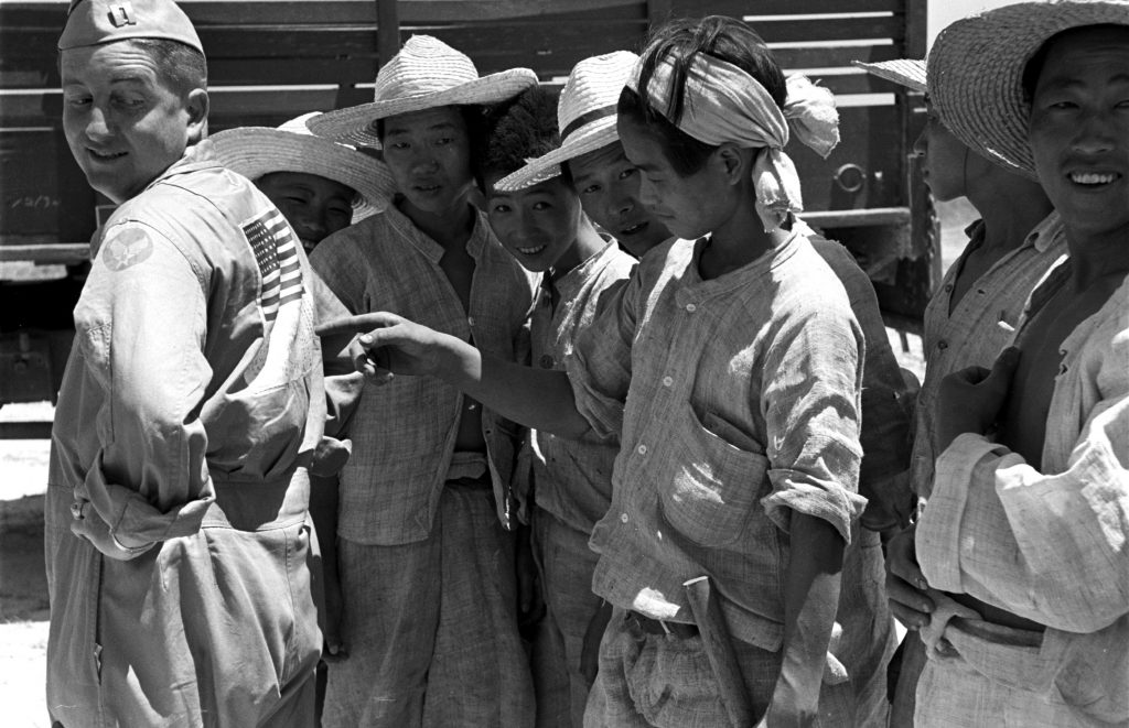 The 1st Cavalry in Korea, July 1950.