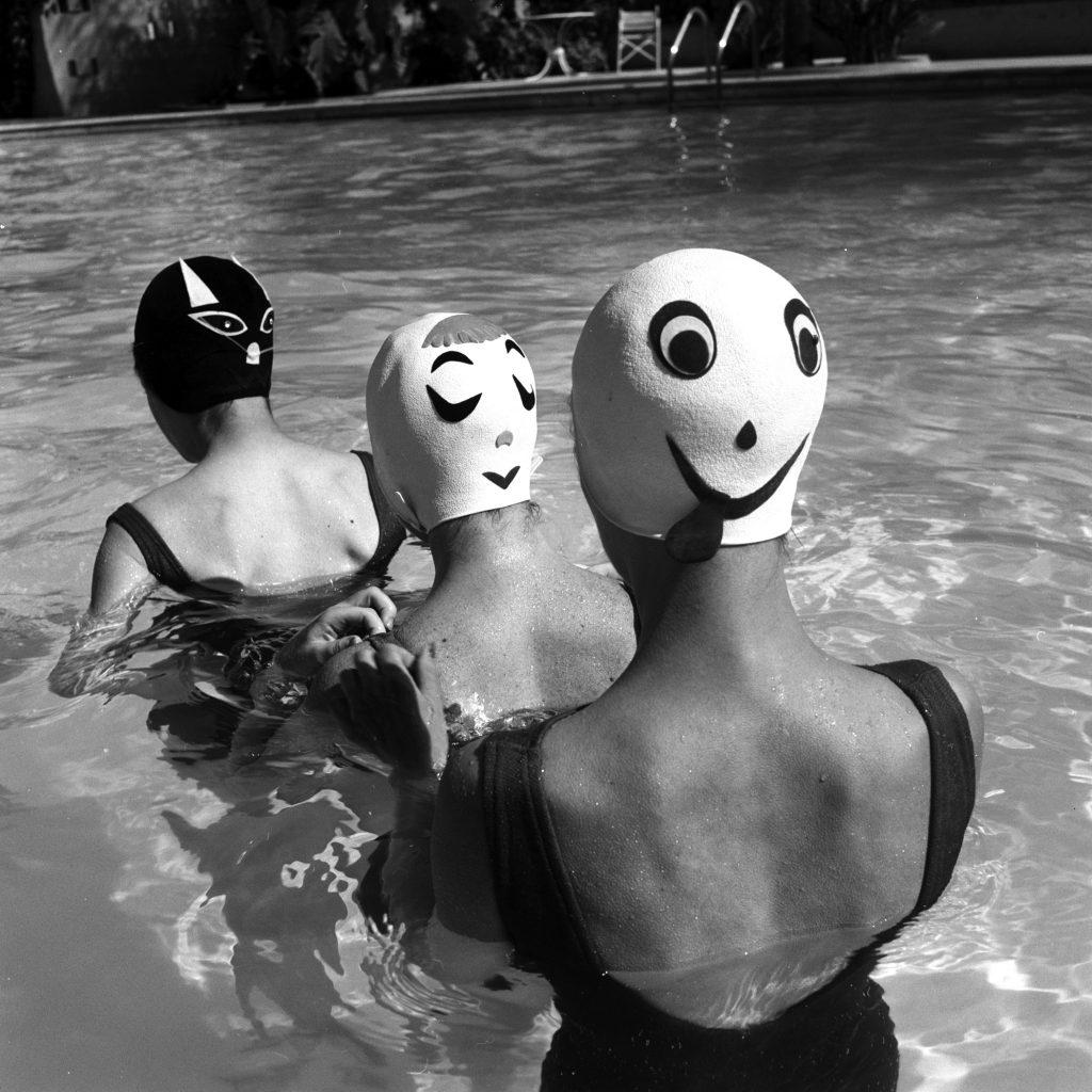 Crazy Swim Caps 1959