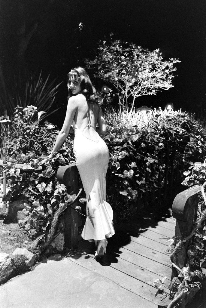 Model and actress Vikki Dougan, 1957.