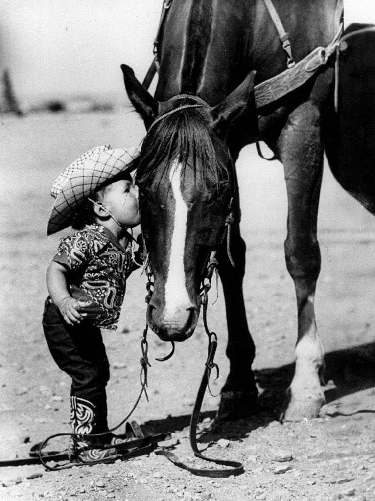 The Youngest Cowgirl in 1955