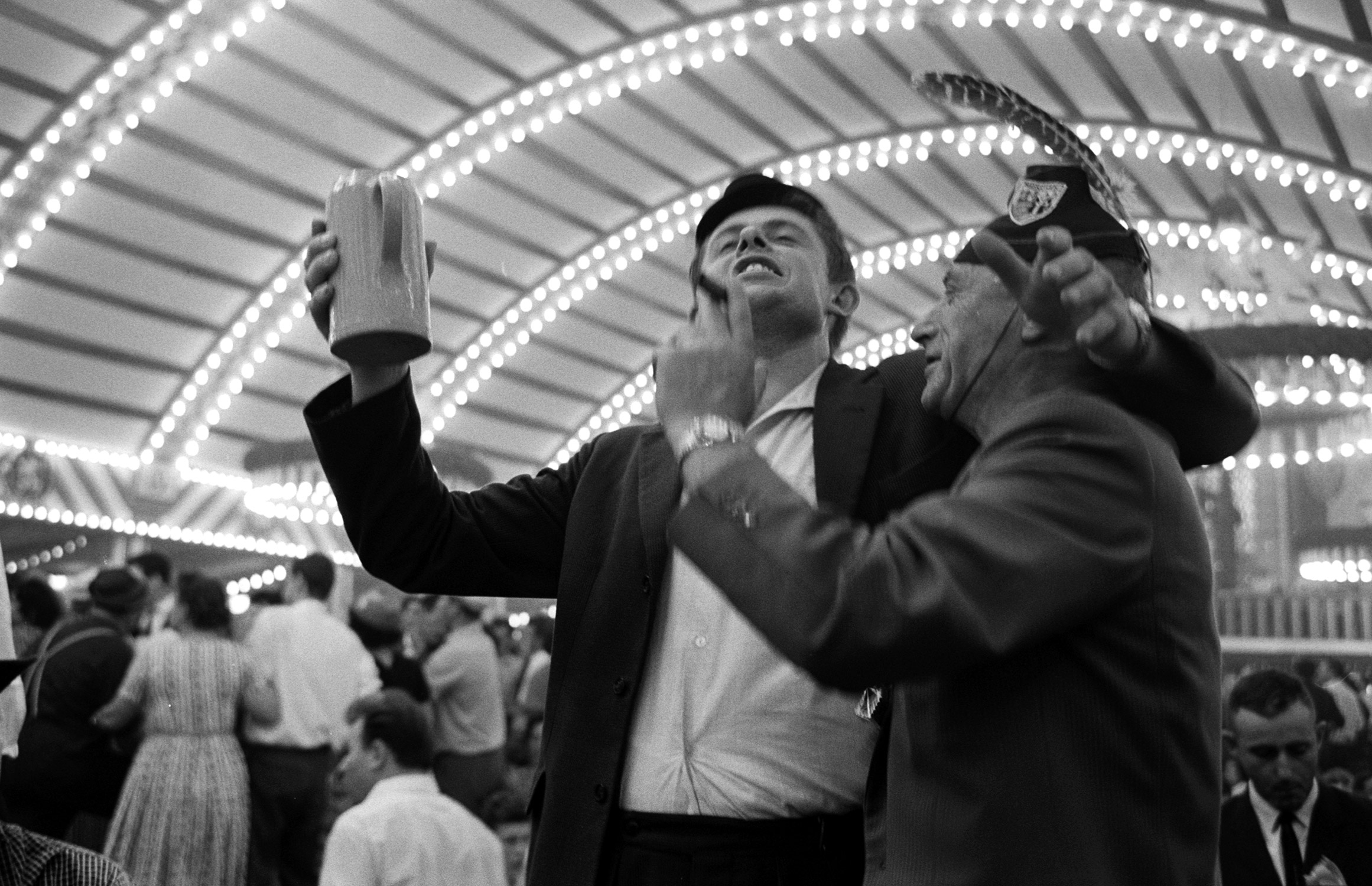 Oktoberfest in Germany, 1961.
