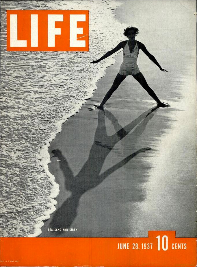 June 28, 1937 cover of LIFE magazine.