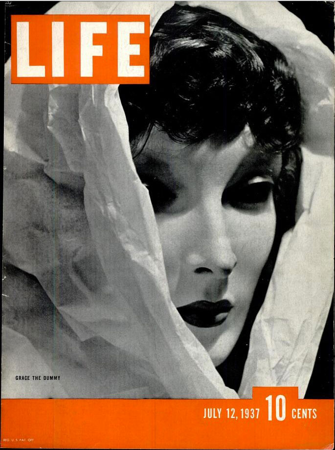 July 12, 1937 cover of LIFE magazine.