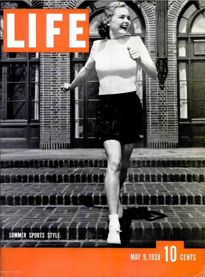May 9, 1938 cover of LIFE magazine.