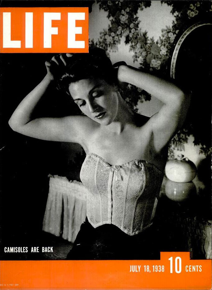 July 18, 1938 cover of LIFE magazine.