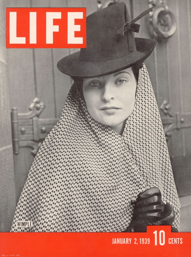 January 2, 1939 cover of LIFE magazine.