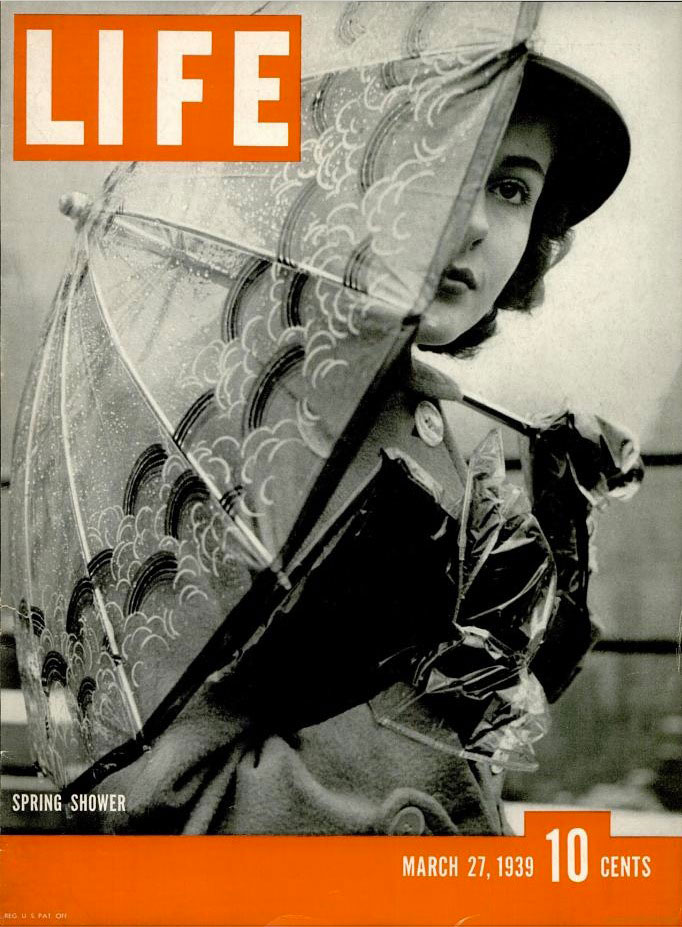 March 27, 1939 cover of LIFE magazine.