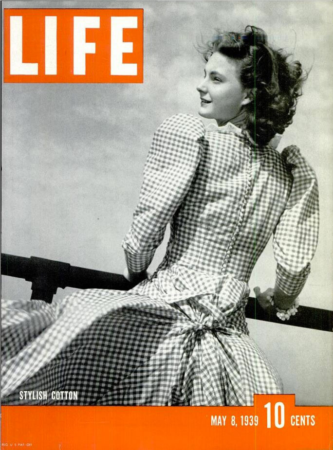 May 8, 1939 cover of LIFE magazine.