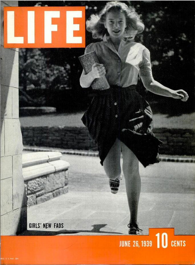 June 26, 1939 cover of LIFE magazine.