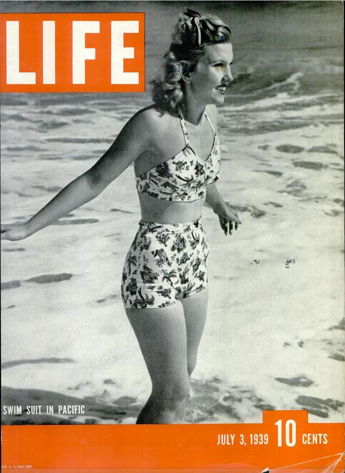 July 3, 1939 cover of LIFE magazine.