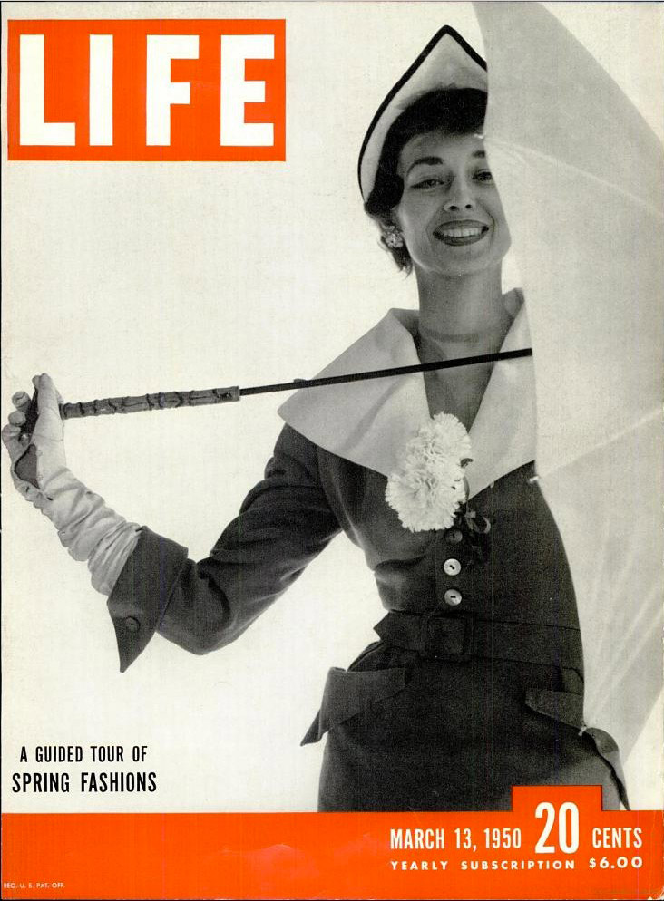 March 13, 1950 cover of LIFE magazine.