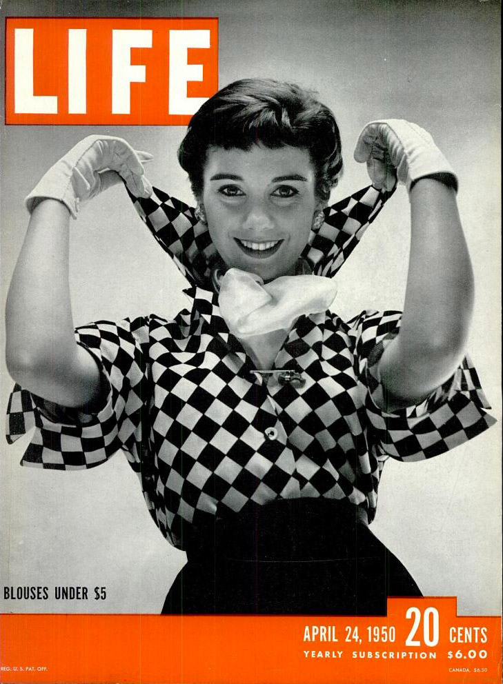 April 24, 1950 cover of LIFE magazine.