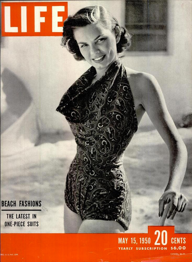 May 15, 1950 cover of LIFE magazine.