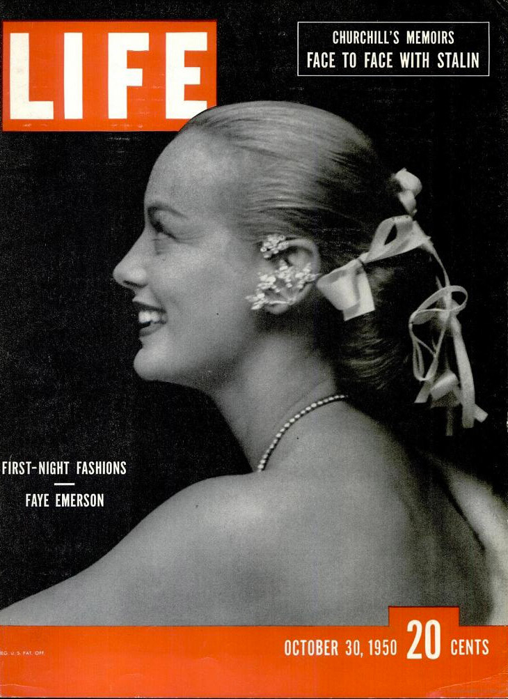 October 30, 1950 cover of LIFE magazine.
