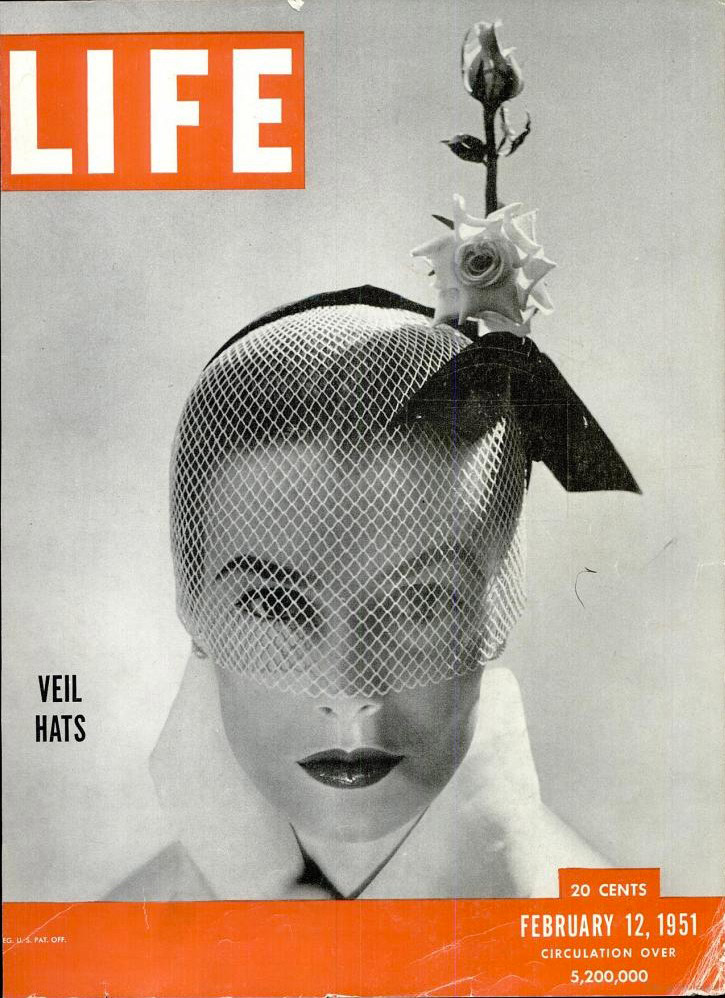 February 12, 1951 cover of LIFE magazine.
